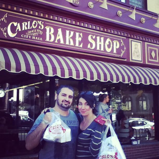 De compras con Cake Boss