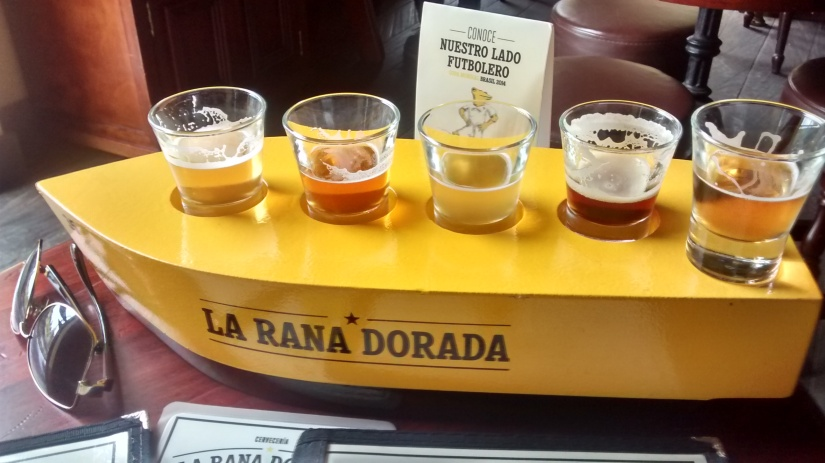 Sampler de cervezas